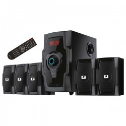 MYRIA RC-5110 Speakers, 5.1, 80W, black