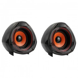 MYRIA MY8008 Speakers, 2.0, 10W, black