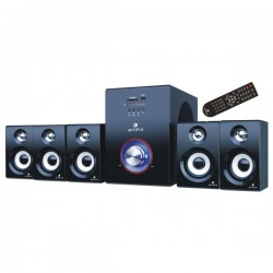 MYRIA RC-529 Speakers, 5.1, 38W, black