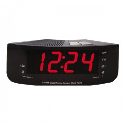 MYRIA MF903S Alarm clock radio, AM / FM, black