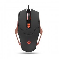 Mouse gaming MYRIA GM-753, 2500 dpi, negru