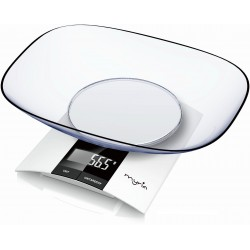 Kitchen scale MYRIA MY4110, 3kg, white