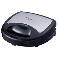 MYRIA MY4111 Sandwich maker 3 in 1, 750W, black-gray