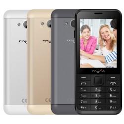 Telefon mobil Myria MY9018 Senior, butoane mari, usor de folosit