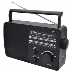 Portable Radio MYRIA MY2603, AM / FM, black-gray