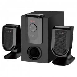 MYRIA MY8000 Speakers, 2.1, 14W, black
