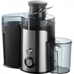MYRIA MY4002 Slow Juicer with cleaning brush, 600W, black