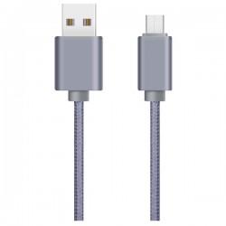 Cablu de date magnetic microUSB MYRIA MY9017 SV