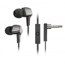 Casti in-ear cu microfon MYRIA MY9027, Black