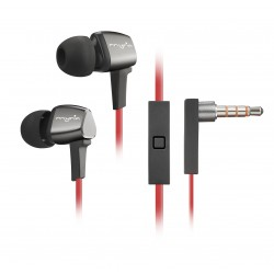 Casti in-ear cu microfon MYRIA MY9027, Red