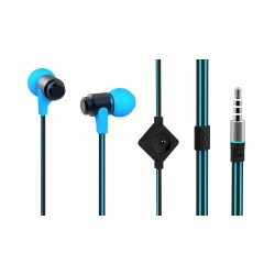 Casti in-ear cu microfon MYRIA MY9028, Blue