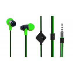 Casti in-ear cu microfon MYRIA MY9028, Green