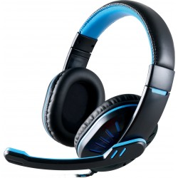 On-ear gaming headphones MYRIA MY8014, black