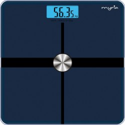MYRIA MY4814 weight machine, electronic, 180kg, LED display, blue