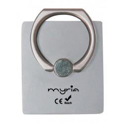 Suport telefon MYRIA MY9305, argintiu