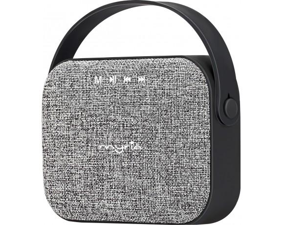 Boxa portabila MYRIA MY9061, 2x3W, Bluetooth, gri