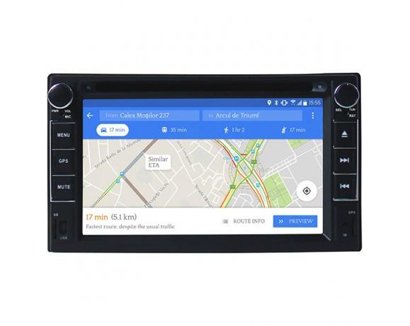 "DVD player auto cu Android MYRIA MY2105, Display 6.2"" ,GPS, Bluetooth, 4x40W"