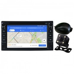 "DVD player auto cu Android + camere fata/spate MYRIA MY2106, Display 6.2"" ,GPS, Bluetooth, 4x40W"