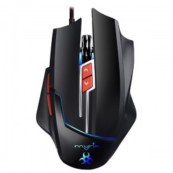 Mouse gaming MYRIA MG7505, 8200 dpi, negru