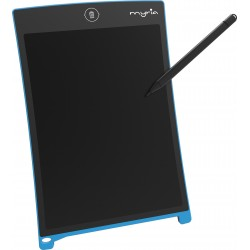 "MYRIA MY7206BL Drawing and writing tablet, 8.5"", blue"