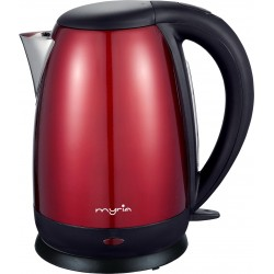 MYRIA MY4103RD Electric Kettle, 2200W, 1.7l, red