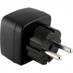 MYRIA MY2335 US-EU Plug adapter, 3500W, black