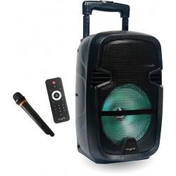 MYRIA MY2612 Portable speaker with microphone, Bluetooth, 30W, negru