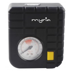 Minicompresor auto analogic MYRIA MY2108, 12V, negru