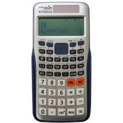 MYRIA MY8310 Desk calculator, 417 functions, silver-blue