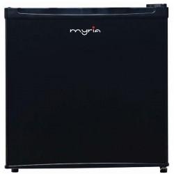 MYRIA MY1025BK Mini Refrigerator, 43 l, 52 cm, A+, black