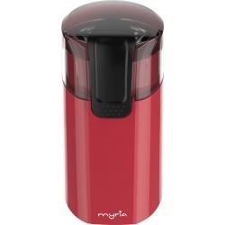 MYRIA MY4035RD Coffee Grinder, 60g, 150W, red