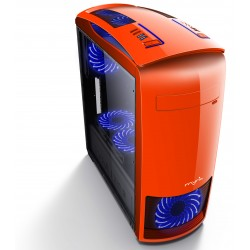 MYRIA MY8729 Orange case, 2x USB 3.0, 400W, mATX