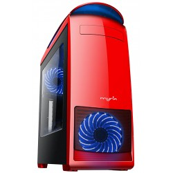 MYRIA MY8729 Red case, 2x USB 3.0, 400W, mATX