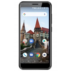 Telefon MYRIA L500 MY9076, Camere foto 8MP si 5MP, 16GB, 2GB RAM, negru