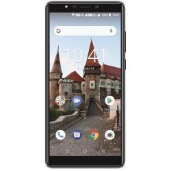 Telefon MYRIA L600 MY9078, Camere foto 13MP si 8MP, 16GB, 2GB RAM, negru
