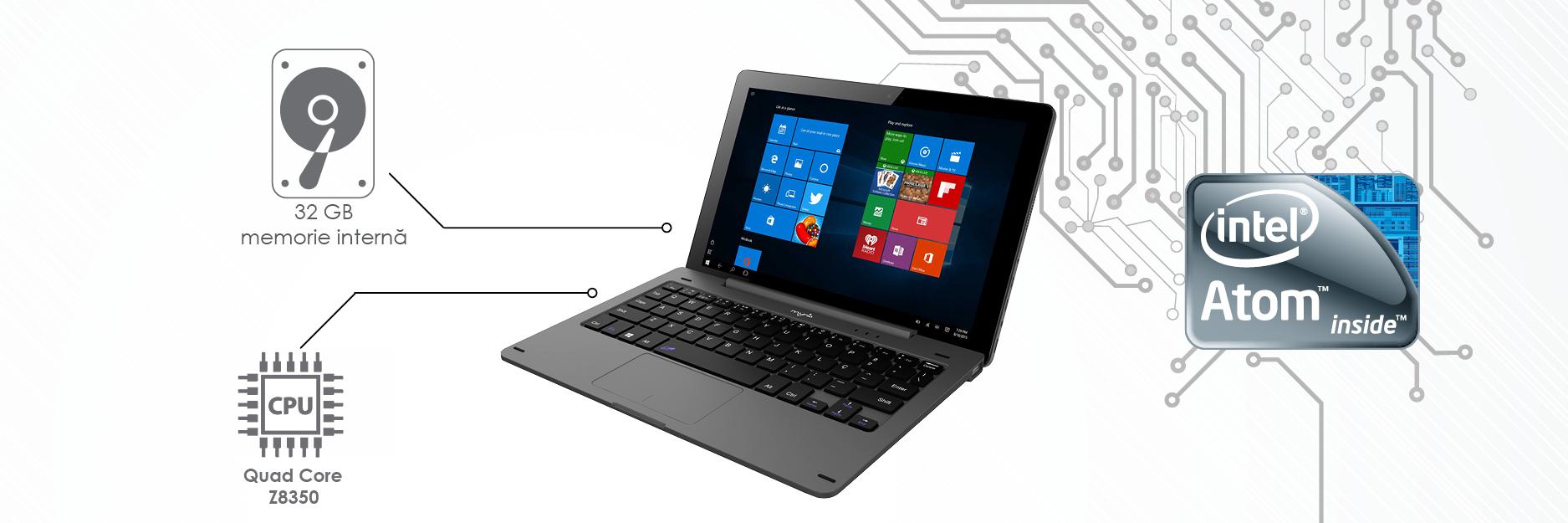 Myria laptop Myria MY8307 procesor